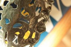 Великолепная маленькая ажурная розетка из Германии