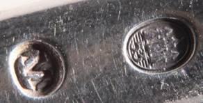Обеденные ложка и вилка / Серебро / Дания /С 1 РУБ