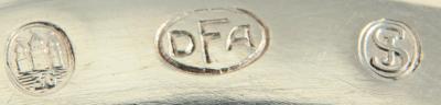 Шикарная серебряная сервировочная лопатка из Дании
